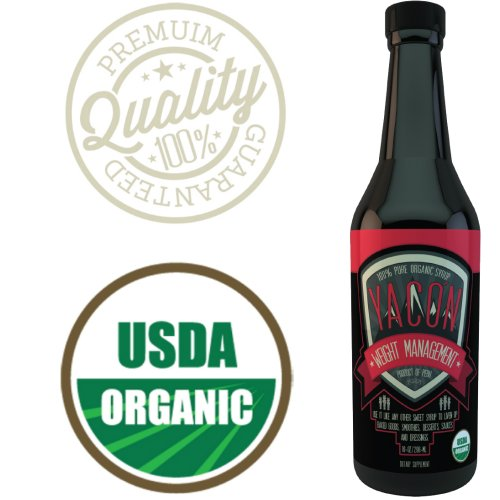 Healthy Island Usda Organic 100% Yacon Syrup, 10 Ounce