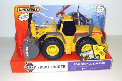 Matchbox Real Action Trucks Front Loader