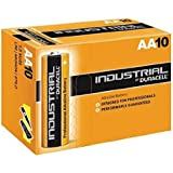 10 X Duracell AA Industrial Battery Alkaline Replaces Procell Expiry 2021