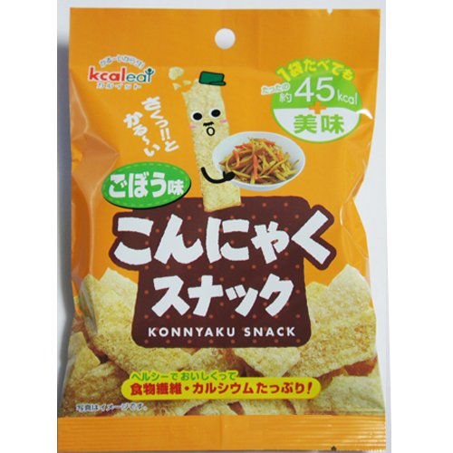 カルイット こんにゃくスナック ごぼう味 10g