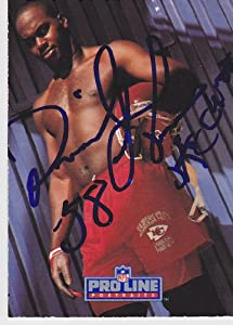 Derrick Thomas Autographed Hand Signed Kansas City Chiefs Trading Card - with KC... by Real Deal Memorabilia