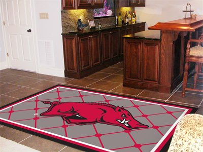 Arkansas Razorbacks 5'x8' Area Rug at Amazon.com