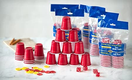 2 oz red party cups