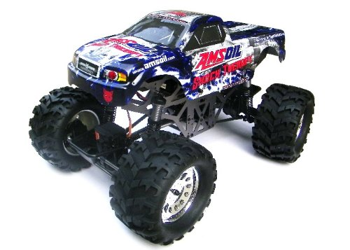 1/10 Scale Elwctric The Ground Pounder Truck 4 Wheel Drive