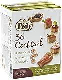 Pidy Retail Range Cocktail Assortment 12 x Mini square vol au vent, 12 x mini fish, 12 x mini round (Total of 36 pieces)