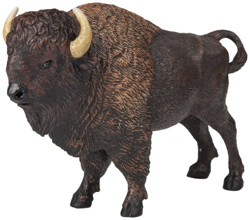 Papo American Buffalo Toy Figure