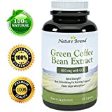 #1 Pure Green Coffee Bean - Ultra Pure - Extra Strength - 50% Chlorogenic Acid 800mg Per Serving - Guaranteed By Nature Bound
