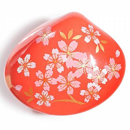 Rojo Cherry Blossom kousaido de incienso de fuente y soporte