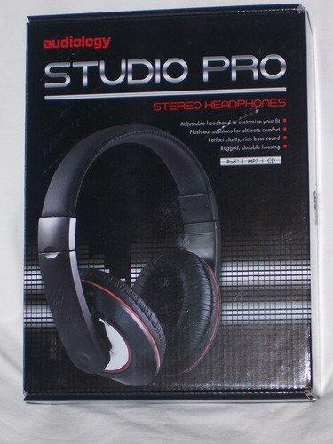 Audiology Audiology Au-Pro250-Blcs Studio Headphones