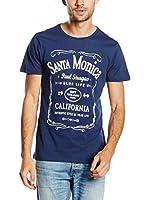PAUL STRAGAS Camiseta Manga Corta (Azul)