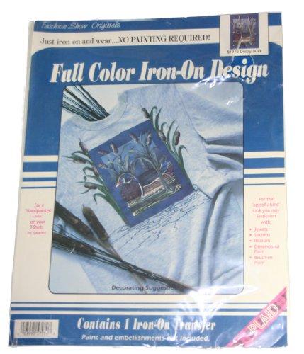 Fashion Show Originals Full Color Iron On Design Decoy Duck