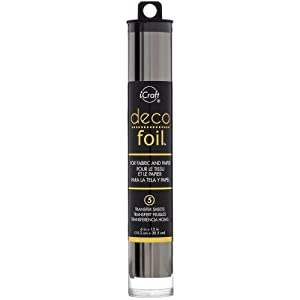 Deco Foil - Metallic Colors Transfer Sheet Set with Foil Pen - Rose Gold, Pewter, Silver, Copper & Gold (Original Version) (Color: Original Version)