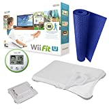 MD Group Nintendo Wii Starter Kit Bundle Fit-U with Board Mat Battery Pack Silicone Sleeve Kits