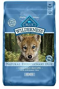Wilderness Grain Free Dog Food Dry, Puppy Chicken Formula, 24 lb