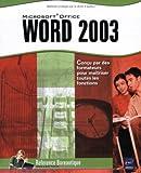 echange, troc Collectif - Word 2003