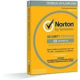 NORTON SECURITY 2016 PREMIUM (10 appareils / 1 an) + Backup & Contrôle Parental