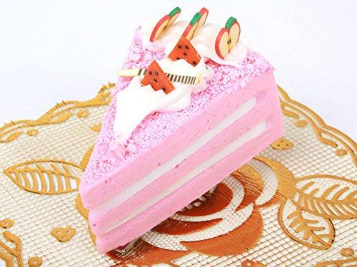チーズケーキ型 ヘアピン 子ども スイートティーブレイク イチゴ