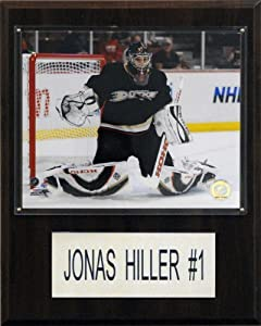 C & I Sammlerst-cke 1215HILLER NHL Anaheim Ducks Spieler Plaque