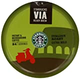 Starbucks Italian Via Coffee 55 g (Pack of 8)
