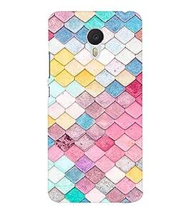 EPICCASE Anglular Patterns Mobile Back Case Cover For Meizu M3 Note (Designer Case)