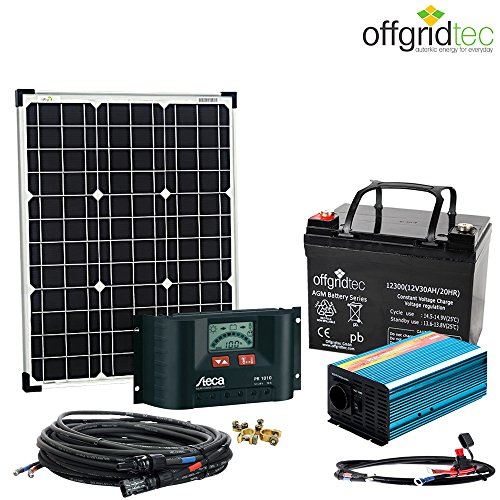 solaranlage autark xs master 50w solar 300w ac leistung 12v 230v. Black Bedroom Furniture Sets. Home Design Ideas