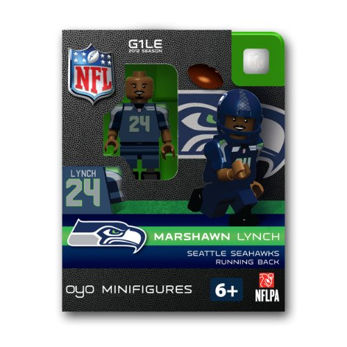 NFL Seattle Seahawks Marshawn Lynch Figurine at Amazon.com