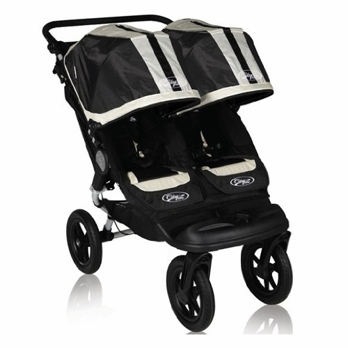 Baby Jogger City Elite Double Stroller, Black Sport