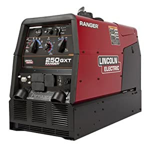 - Lincoln Electric Ranger 250 GXT AC/DC Arc Welder/AC Generator w/Electric Fuel Pump - 250 Amp DC/250 Amp AC Welding Output, 10,000 Watt AC Power Output, Model# K2382-4 from Lincoln Electric