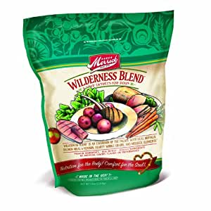 Merrick 5-Star Wilderness Blend Dry Dog Food 5 Pound Bag