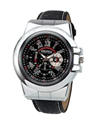 Exotica Analog Black Dial Men's Watch (EFG-07-B-LB)