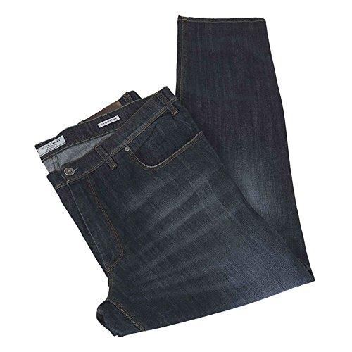Pantalone jeans taglie forti uomo Maxfort GUALTIERO stretch - Blu scuro, 70 GIROVITA 140 CM
