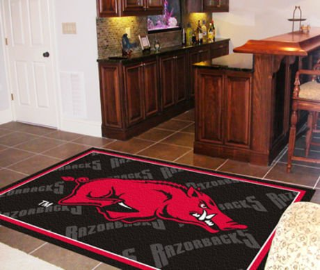 Arkansas Razorbacks 5'x8' Rug 5X8 Floor Mat (Rug) at Amazon.com