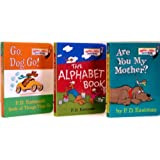 Are You My Mother? / The Alphabet Book / Go, Dog. Go! (Bright & Early Borad Books - Pack C) ~ P.D. Eastman