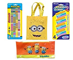Despicable Me Minions Back to School Kit (14 Pieces)