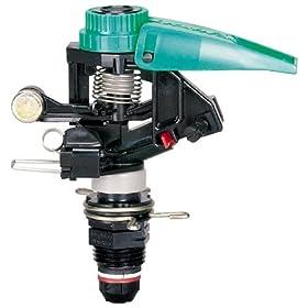 Rain Bird 25 to 38-Foot Coverage Radius Plastic Impact Rotor Low Pressure Sprinkler Head (Mini-Bird) P2-R