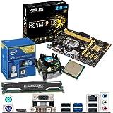 INTEL Core i3 4130 3.4Ghz, ASUS H81M-PLUS Motherboard & 4GB 1600Mhz DDR3 Crucial Ballistix Sport RAM Bundle