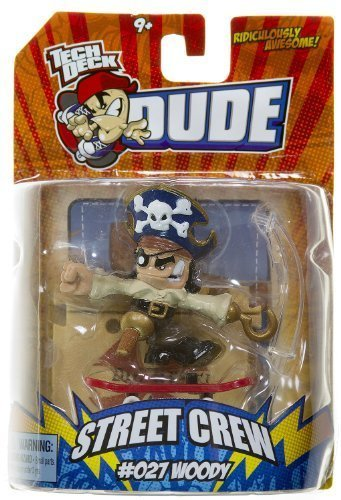 Tech Deck Dude Ridiculously Awesome Street Crew: #027 Woody - 1