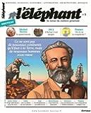 L'éléphant, N° 3, juillet 2013 :