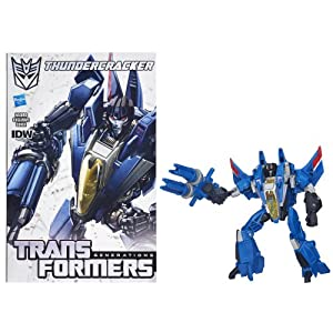 Transformers Generations Deluxe Class Thundercracker Action Figure