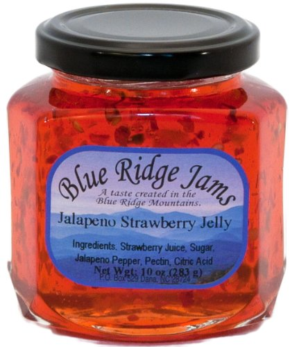 Jalapeno Strawberry Pepper Jelly (10 oz Jar)