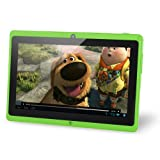"NORIA Junior. 8GB 7"" Tablet PC, Android Jellybean 4.1, Dual Camera, HDMI, Dual Core 1.5 GHz - Green"
