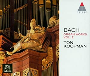 Bach: Organ Works, Vol 2 - Schubler and Leipzig Chorales (BWV 645-668) /Koopman * Amsterdam Baroque Choir
