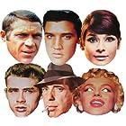 Hollywood Stars - MULTIPACK - Celebrity Face Masks