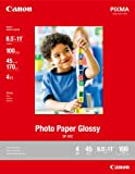Canon GP-502 8.5-Inch x 11-Inch Photo Paper Glossy (100 Sheet/Package)