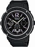 CASIO カシオ Baby-G ベビーG BGA-150-1B  海外モデル スポーティなイメージ ブラック×シルバーレディース 腕時計 女性用 時計 ウォッチ 【逆輸入品】