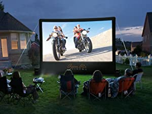 Open Air Cinema CineBox Backyard Beach Holiday Parties Big-Screen Home Theater System