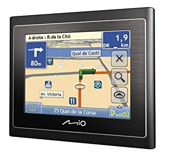 "Mio Moov 200 Europe GPS Ecran tactile 3,5"" Radars"