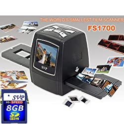 SVP FS1700 Black (8GB included)Digital Film Scanner w/ 2.4