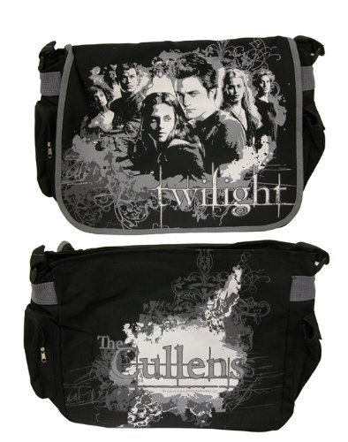 """Twilight Messenger Bags Bts """"Bella and Cullens"""" Vector by Neca (English Manual)"""