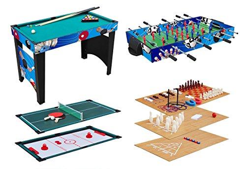 KMH-Multifunktionsspieltisch-12-in-1-Multigame-Tisch-Multifunktionstisch-Billard-Kicker-Gleithockey-Tischtennis-usw-800031
